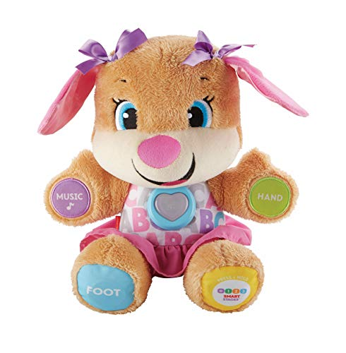 Fisher-Price Laugh and Learn Puppy, blauw of roze. Pupe zuster Medium multicolor