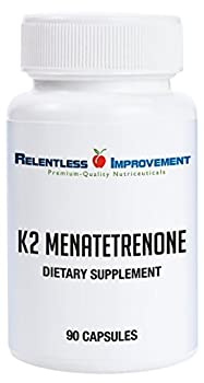 Relentless Improvement Vitamin K2 Mk4 Vegan Naturally-Derived
