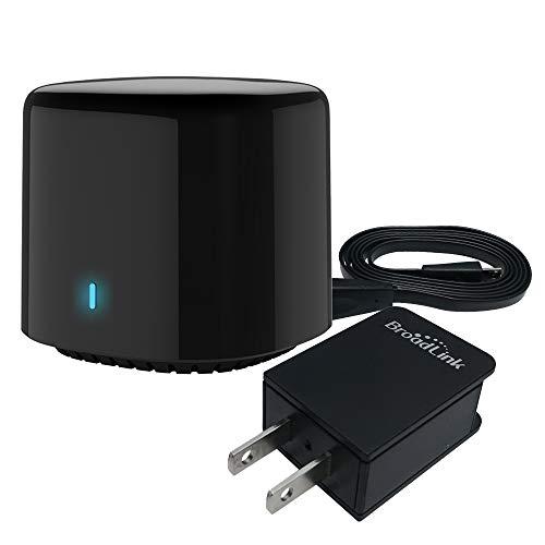Broadlink BestCon RM4C Mini Universal-Fernbedienung Wi-Fi + IR-Controller App-Steuerung Kompatibel mit Alexa - Unterstützt über 50.000 IR-gesteuerte Heimgeräte TV, Klimaanlage, DVD