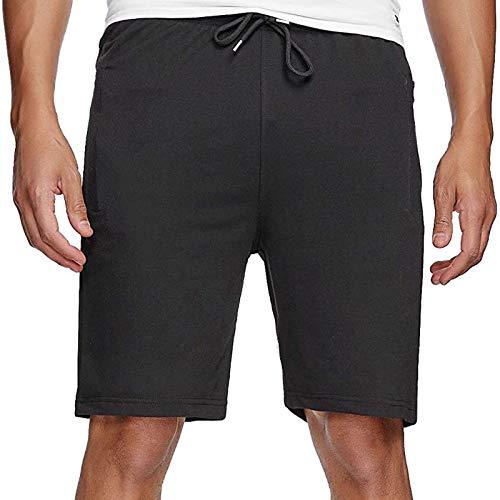 Pantalones Deportivos Cortos para Hombres: Pantalones Cortos, Pantalones Cortos para Correr para Hombres, Pantalones De Jogging De AlgodóN De Verano, Pantalones Cortos Deportivos, Bermudas