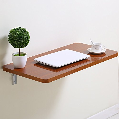 GaoXu ZheDieZhuo HAKN Table Pliante/Table à Manger/Table d'ordinateur/Mur/Table de Stockage/Table de décoration (Couleur : B, Taille : 80 * 40CM)