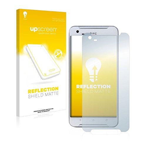 upscreen Entspiegelungs-Schutzfolie kompatibel mit HTC One X9 – Anti-Reflex Bildschirmschutz-Folie Matt