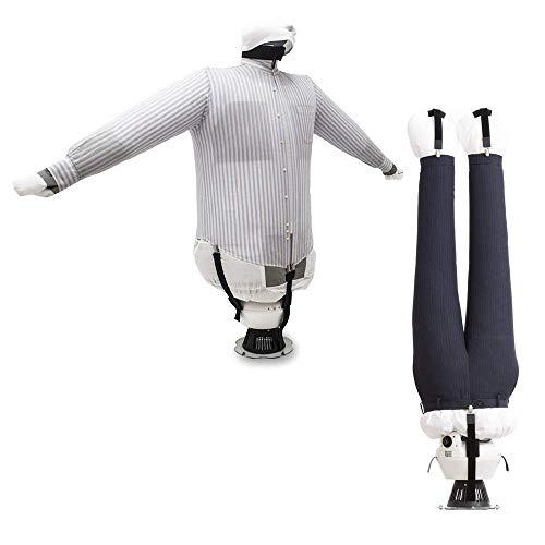 EOLO Plancha Secadora Plancha y Seca en automático Camisas Blusas Pantalones Refresca Ropa con Aire frío Modelo de Ahorro de energía Planchado Vertical Profesional 5 años de garantía SA04 E