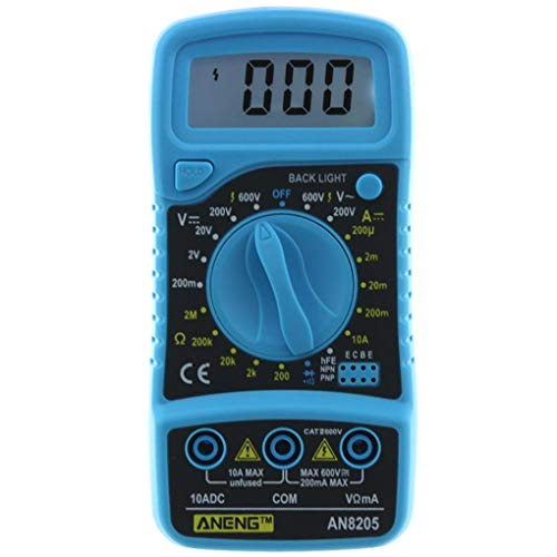 Review Yongse ANENG AN8205 Professional Digital Multimeter AC/DC Ammeter Voltmeter Ohm Tester