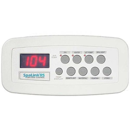 Jandy SpaLink RS 8 Function Spa Side Remote 150 ft. White 7227