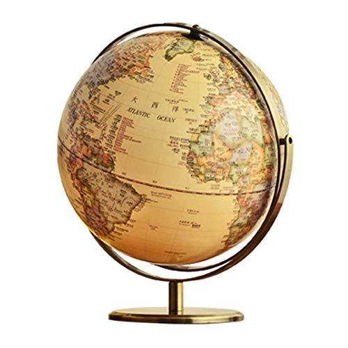 Globes World Sphere Map Dekorative Desktop Retro Globe Rotating Globe Geographie, 12 ', Modell 14,56 Zoll