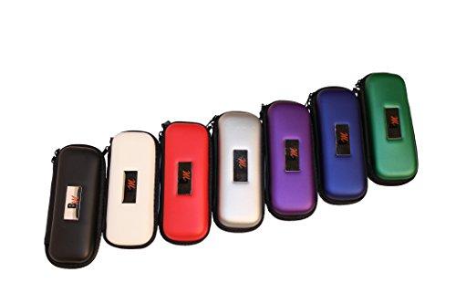 Etui für e-Zigarette eGo-T/Liquid/Zubehör in vielen Farben - Aufbewahrungsetui zum TOPPREIS (Schwarz)