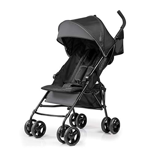 Summer Infant 3D Mini Convenience Stroller, Gray