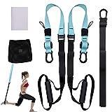 ISOPHO Allenamento Sospensione, Workout Set per Suspension Fitness Body Training Incluso Ancoraggio...