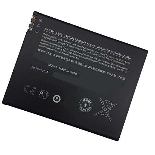 Smarthhw Batteria di ricambio per telefono cellulare Microsoft Nokia Lumia 950 XL, 950 XL Dual SIM, Lumia 940 XL BV-T4D BVT4D