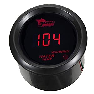 5 Tachometer EL-3-in-1 Water Temp Oil Press RPM Meter With Logo Carvicto