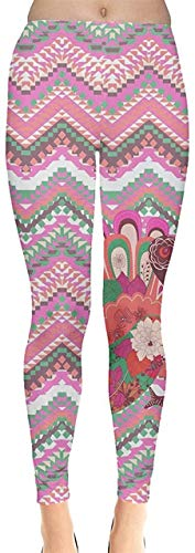 Sunny R Frauen Stretch Strumpfhose Woodland Animals Autumn Fox Thema und Käse Muster Leggings Yoga Sporthosen S