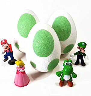 Pack of 3 Yoshi Egg Toy Bath Bombs - 12 Oz.