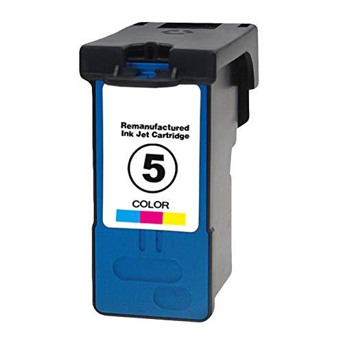 4 cartuchos de tinta, 5 cartuchos de tinta de alto rendimiento para impresoras Lexmark X2690, X3690, X4690, X5690, compatible con color negro y color