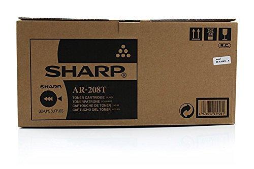 Original Sharp AR-208T /, für AR-M 201 Premium Drucker-Kartusche, Schwarz, 8000 Seiten