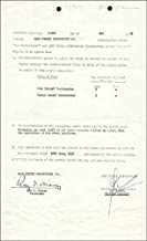 Roy O. Disney - Contract Signed 05/06/1958