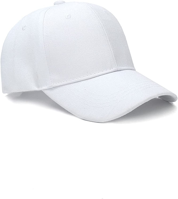 Tekenizyc Baseball Cap Men Women Adjustable Plain Sports Fashion Quality Hat ,Suitable for Any Place, Shading