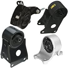 Engine Motor & Trans. Mount Set 4PCS for 1995-2001 Nissian Maxima 3.0L for Manual Transmission A7305, A7304, A7302, A7330