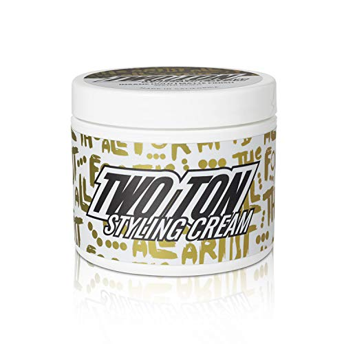 Hanz de Fuko TWO TON Insane Hold Styling Cream - Water Based, Matte Finish, Strong Hold Hair Cream