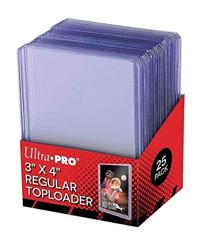 "Ultra Pro - Protèges Cartes - Toploader Transparent Regular Ultra Clear 3""x4"" Par 25"