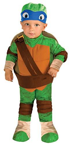 Nickelodeon Ninja Turtles Leonardo Romper Shell and Headpiece, Green, Toddler