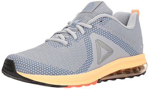 Reebok Women's Jet Dashride 6.0 Sneaker, Cloud Grey/rain Cloud/Desert Glow/Solar Orange/Black, 8.5 M US