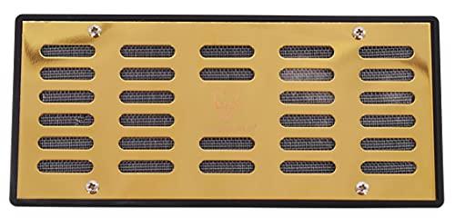 GERMANUS Metall Humidor Befeuchter mit Kristallen Kassette XL Gold III