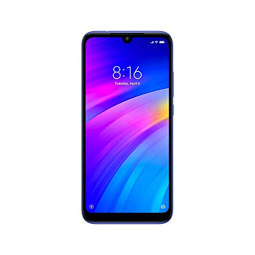 "Xiaomi Redmi 7 15,9 cm (6.26 "") 3 GB 32 GB Double SIM 4G Blue 4000 mAh"