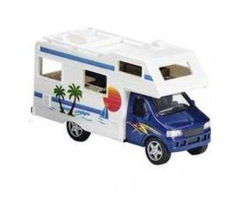 Unbekannt Wohnmobil blau Modellauto Spritzguss