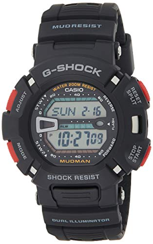 Casio Herren Digital mit Resin Armbanduhr G 9000 1VER