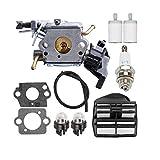 hjgnbiohg 1 Set Strimmer Carburador con Herramientas Multi Universal del Cortacésped Carburador De Combinación para C1m-el37b 445 450 445e 450e Motosierra Accesorios