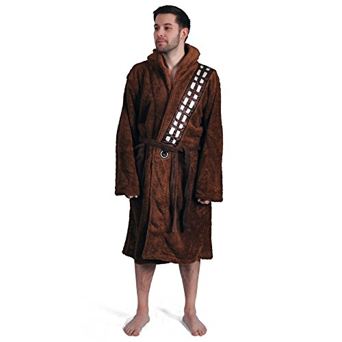 Star Wars Chewbacca Adult Faux Fur and Fleece Bathrobe