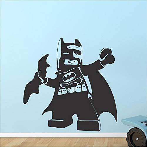 pegatina de pared S Brave Lego Batman Kids Bedroom Habitación Viny Habitación Linda