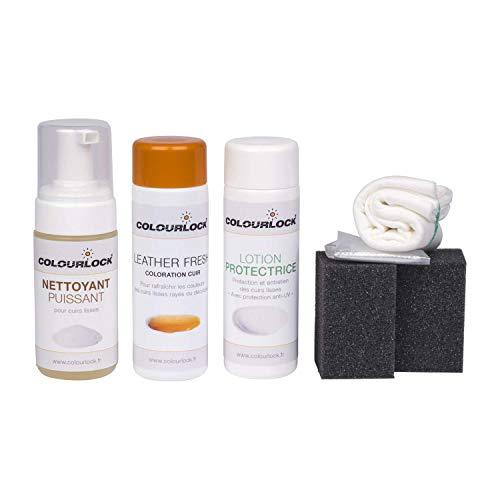 COLOURLOCK® Kit de Coloration et d'entretien pour Cuirs avec nettoyant Puissant McLaren Vintage Tan