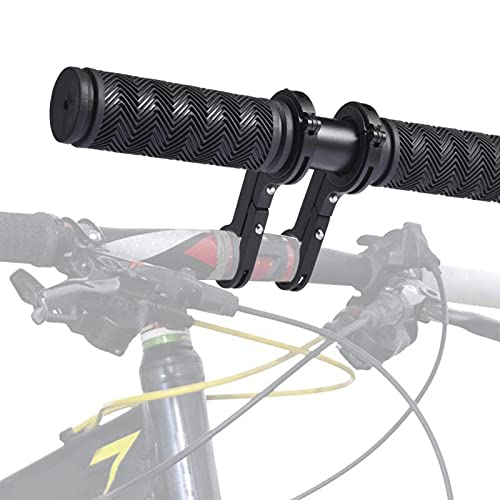Kids MTB Handlebar For The Mountain Bike Child Seat Easy Assembly Child Seat Accessory-rubber + Aluminum Alloy,black