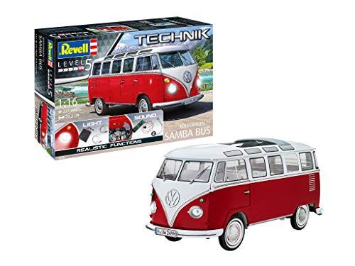 ドイツレベル 1/16 レベルテクニックシリーズ フォルクスワーゲン T1 サンババス プラモデル 00455