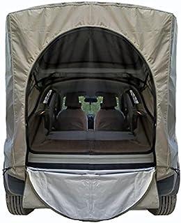 Bagagetält för bil vattentät vindtät universell bärbar bilresa bil camping anti-UV markis för halvkombi