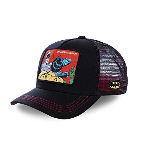 capslab - Gorra Batman & Robin - Negra - MEM2