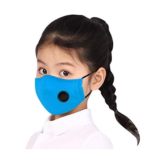 MORETIME Accessory Kinder-Schutz, Wiederverwendbare Outdoor Unisex, Baumwolle Soft Mundschutz-Multifunktionstuch