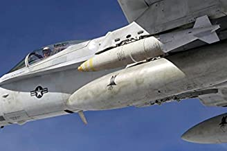 Posterazzi Poster Print Collection an F/a-18C Hornet Flies Over the Pacific Missile Range Facility Stocktrek Images, (17 x 11), Multicolored