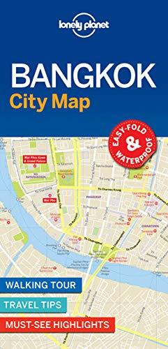 Lonely Planet Bangkok City Map