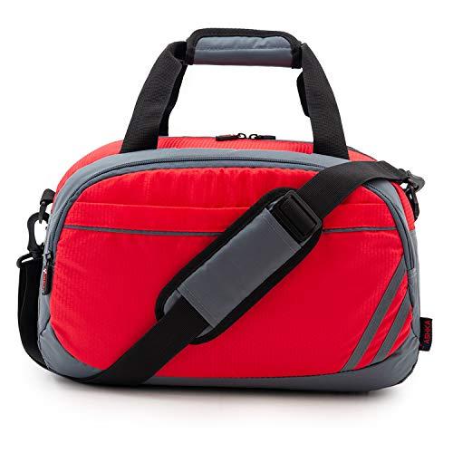 Vashka Duffle Reistas | Reistas Handbagage 40X20X25cm | Geniet van je reis | Rood