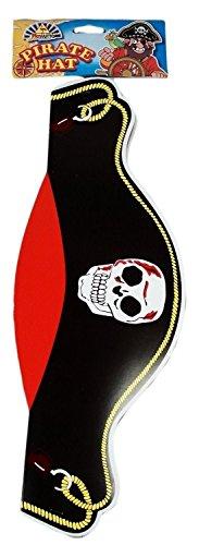 12 Chapeaux de Pirates (12 card pirate hats)