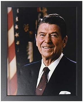 Historical Photos President Ronald Reagan - Official Portrait - Framed 8x10 Photo