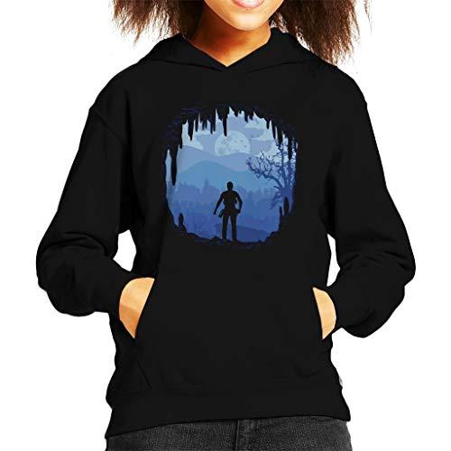 Cloud City 7 Hideout Uncharted 4 Kid's Hooded Sweatshirt
