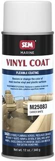 SEM M25083 Carver White Marine Vinyl Coat - 12 oz.