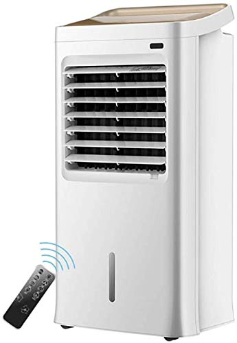 Stille desktopventilator, ventilator voor thuiskoeling en verwarming Afstandsbediening Mobiele airconditioning, draagbare koeler Kleine airconditioner Koelslaapzaal