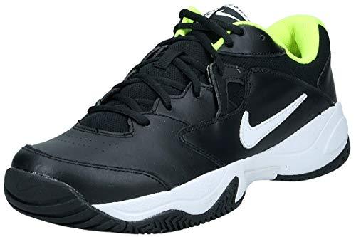 Nike Court Lite 2, Scarpe da Tennis Uomo, Black/White/Volt, 43 EU