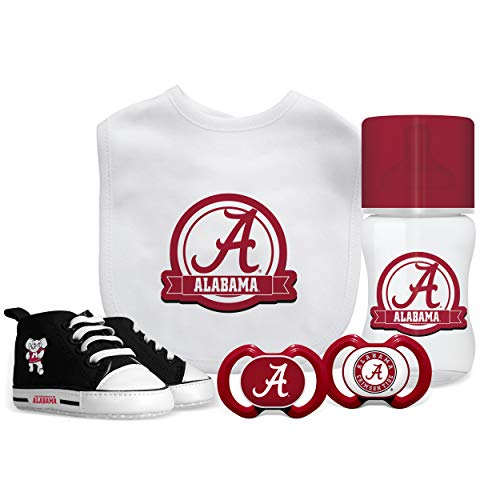 Baby Fanatic NCAA Alabama Crimson Tide Infant and Toddler Sports Fan Apparel