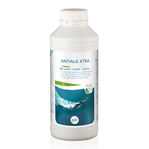 Gre 76041 Anti-algues 1L, Blanc, 8 x 8 x 23 cm